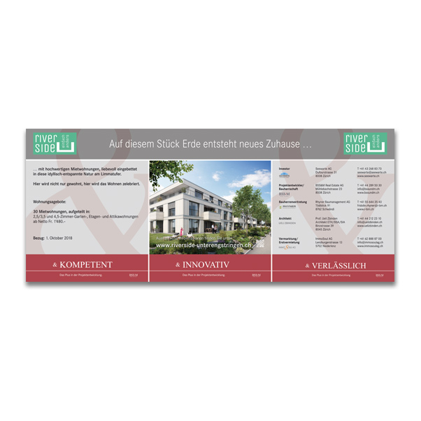 Kunde: BSS&M Real Estate AG Zürich